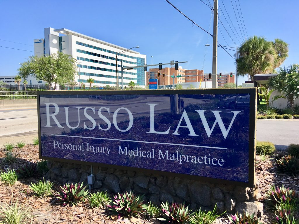 Russo Law Outdoor Sign Day