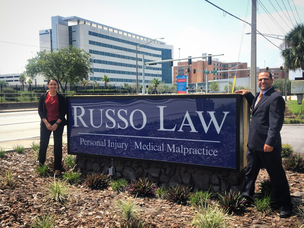 Russo and Kretzer by Outdoor Sign