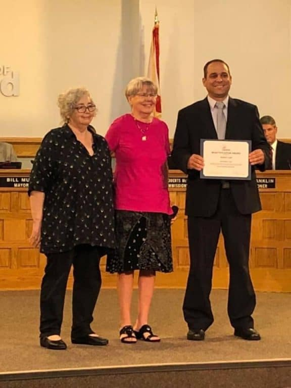 Russo Law City of Lakeland Commercial Beautification Award Ceremony September 2019