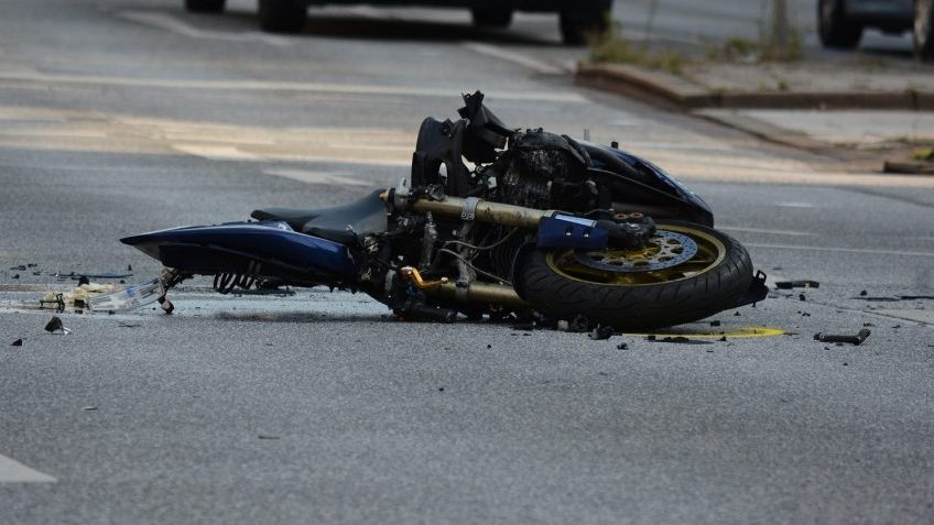 Motorcycle Accident S. Florida Ave Sept. 2019